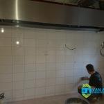 Professionele keuken bouwen Nieuwegein - Wand tegelen - 010
