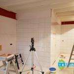 Professionele keuken bouwen Nieuwegein - Wand tegelen - 04